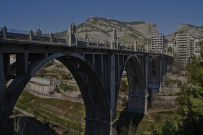 Alcoy, puente de San Jorge