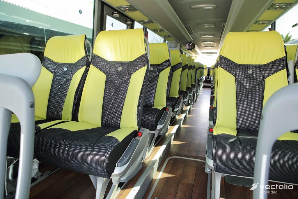 Interior nuevos autocares