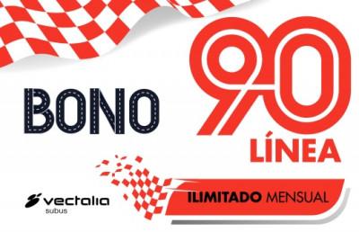 Bono Línea 90 Alicante - Elche - Crevillente