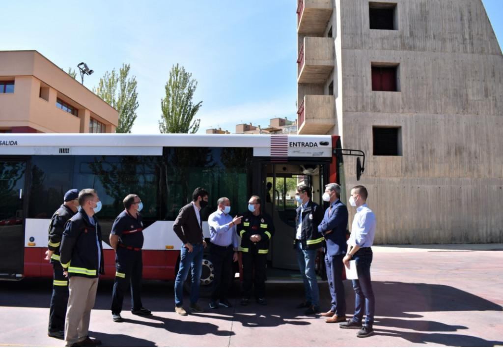 Vectalia entrega autobús a Ayto. Albacete